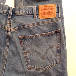 Levi's 550 Jeans, Medium Wash 38/34